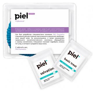 Фото Сет № 3 «Балансуюча процедура для жирної та комбінованої шкіри» Piel Cosmetics