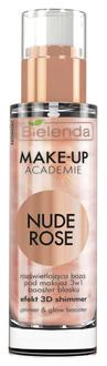 Фото Освітлювальна основа для макіяжу 3в1 Bielenda Make-Up Academie Nude Rose