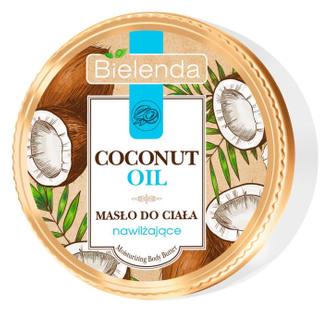 Фото Зволожувальне масло для тіла Bielenda Coconut Oil Moisturizing Body Butter