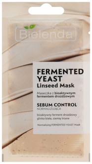Фото Маска для обличчя з ферментами Bielenda Fermented Yeast Linseed Mask