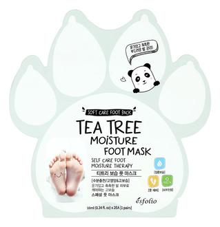 Фото Маска для ніг зволожувальна з екстрактом чайного дерева Esfolio Tea Tree Moisture Foot Mask