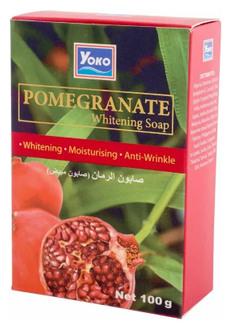 Фото Мило для тіла з екстрактом граната Yoko Pomegranate Whitening Soap