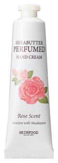 Фото Крем для рук SkinFood Shea Butter Perfumed Hand Cream Rose Scent