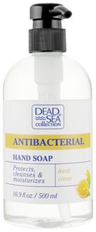 Фото Антибактеріальне рідке мило з ароматом апельсина Dead Sea Collection Antibacterial Hand Soap