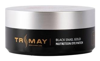 Фото Живильні гідрогелеві патчі під очі Trimay Black Snail Gold Nutrition Eye Patch