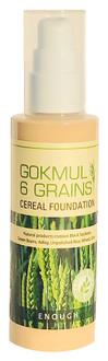 Фото Тональний крем з екстрактами злакових Enough Gokmul 6 Grains Cereal Foundation SPF15