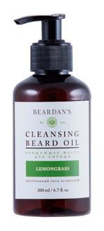 Фото Очищувальне масло для бороди Beardan's Lemongrass