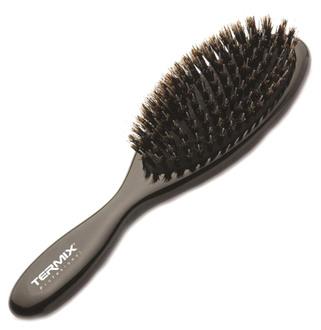 Фото Масажна щітка для нарощеного волосся з натуральною щетиною, маленька Termix Professional P-NEUTX-JN02P