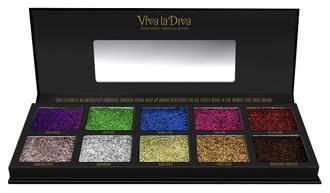 Фото Палетка тіней Viva La Diva Glitter Bomb Eyeshadow Palettes