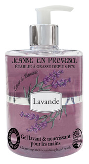 Фото Гель для миття рук Jeanne en Provence Lavande
