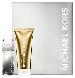 Фото Набір (edp 50 ml + b/lot 100 ml) Michael Kors White Luminous Gold