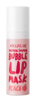 Фото Бульбашкова маска для губ Welcos Around Me Natural Foaming Bubble Lip Mask Peach
