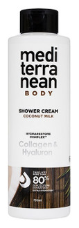 Фото Крем-гель для душу Mediterranean Care Shower Cream Coconut Milk