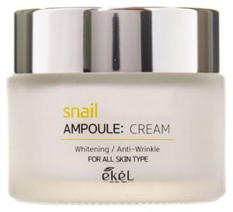 Фото Крем для обличчя Ekel Snail Ampoule Whitening Anti-Wrinkle Cream