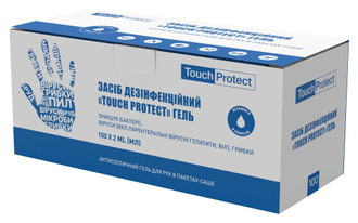 Фото Антисептик гель для рук в саше Touch Protect