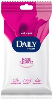 Фото Вологі серветки універсальні Daily Fresh Rose Quartz