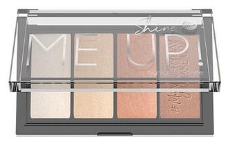 Фото Палетка хайлайтерів для обличчя Bell Cosmetics Shine Me Up! Highlight Palette
