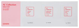 Фото Набір пробників для проблемної шкіри COSRX AC Collection Mild Set
