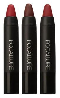 Фото Набір помад-олівців для губ Focallure Lips