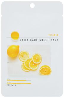 Фото Тканинна маска для обличчя Eunyul Daily Care Mask Sheet Vitamin