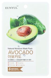 Фото Тканинна маска для обличчя Eunyul Natural Moisture Mask Pack Avocado