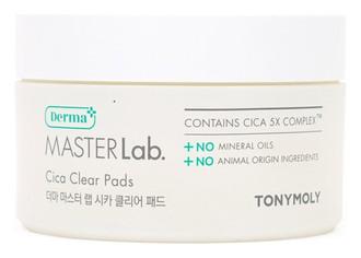 Фото Подушечки для демакіяжу Tony Moly Derma Master Lab. Cica Clear Pads
