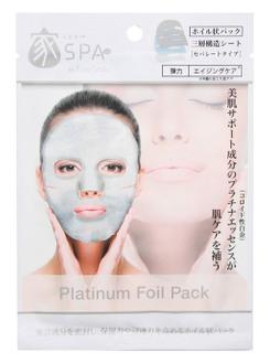 Фото Маска для обличчя з платиною Pure Smile Platinum Foil Mask