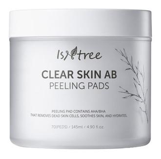 Фото Серветки для пілінгу IsNtree Clear Skin AB Peeling Pads