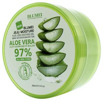 Фото Заспокійливий гель для обличчя і тіла Blumei Jeju Moisture Aloe 97% Soothing Gel