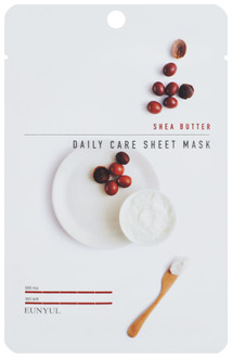 Фото Тканинна маска для обличчя Eunyul Daily Care Mask Sheet Shea Butter