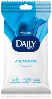 Фото Вологі серветки універсальні Daily Fresh Aquamarine