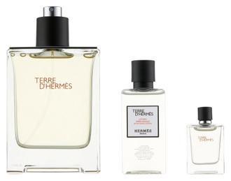 Фото Набір (edt 100 ml + edt 5 ml + asl 40 ml) Hermes Terre d'Hermes Eau De Toilette