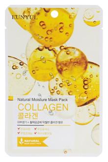 Фото Тканинна маска для обличчя Eunyul Natural Moisture Mask Pack Collagen