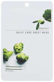 Фото Тканинна маска для обличчя Eunyul Daily Care Mask Sheet Broccoli
