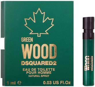 Фото Пробник Dsquared2 Green Wood Pour Homme Eau de Toilette