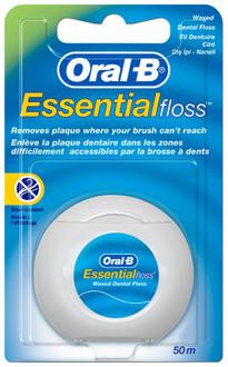 Фото Зубная нить Oral-B Essential Floss Waxed
