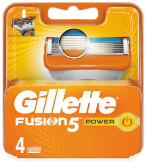 Фото Сменные кассеты Gillette Fusion Power