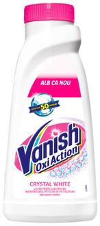 Фото Жидкий пятновыводитель + отбеливатель для белых вещей Vanish Oxi Action