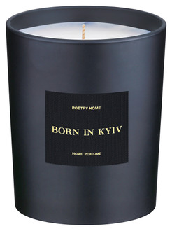 Фото Парфумована свічка Poetry Home Born In Kyiv