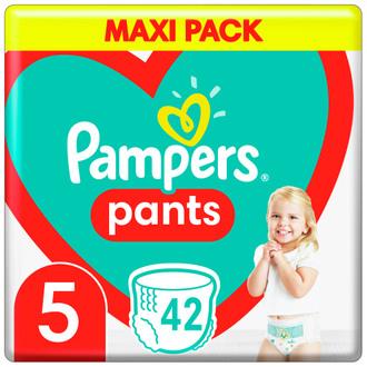 Фото Підгузки-трусики Pampers Pants Junior 5 (12-17 кг)