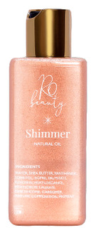 Фото Масло-шиммер с эффектом мокрой кожи Ro Beauty Natural Oil Rose