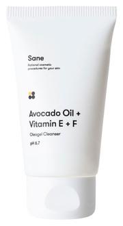 Фото Гидрофильное масло для лица Sane Avocado Oil + Vitamin E + F Oleogel Cleanser pH 6.7
